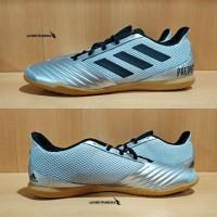 Adidas Predator 19.4 IN Sala - Silver. Sepatu Futsal Ready Big Size 47