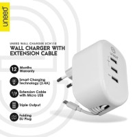 UNEED Smart Travel Charger 3 USB Port - UCH110