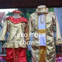baju adat betawi pengantin dewasa jubah