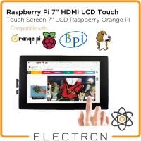 Touch Screen 7 LCD Raspberry Orange Banana Pi BeagleBone IPS w Case