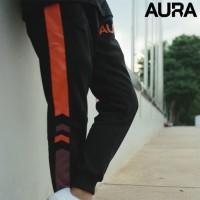 AURA ESPORTS Black Jogger Pants