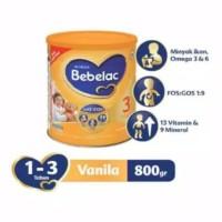 Bebelac 3 vanilla / madu 800gr - vanilla
