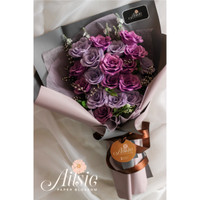 Buket Bunga Mawar Besar - Rose Bouquet | Hadiah Wisuda - Ulang Tahun