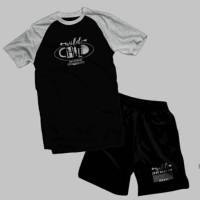 Setelan baju kaos anak laki - kaos just kids - pakaian T-shirt anak