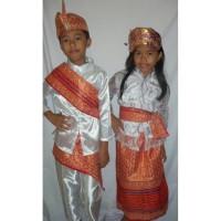Baju adat anak Prov-Bali - Harga sepasang ( LK & PR )