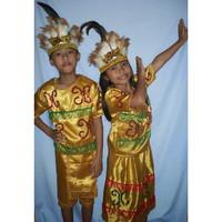 Baju adat anak-Prov Papua -Harga sepasang ( LK & PR ) Baju adat anak - 5-6 tahun