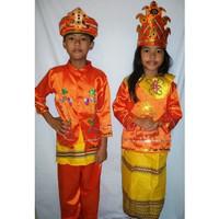 Baju adat anak Tapanuli - Harga Sepasang ( LK & PR ) - 5-6 tahun