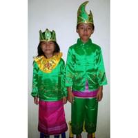 Baju adat anak Prov-Bangka dan Belitung-Harga sepasang ( LK & PR ) - 5-6 tahun
