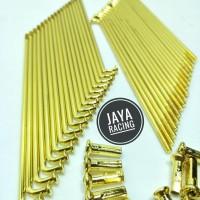 Terhot Jari Jari Gold Model Tdr Ready Ukuran Ring Velg 14 - 16 - 17 -
