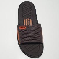 terlaris sandal pria luofu karet import sendal cowok kokop 6168D