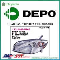 HEAD LAMP TOYOTA VIOS 2002-2004 LH Diskon