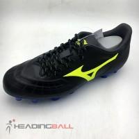 Sepatu Bola Mizuno Original Rebula 3 Select Black Yellow P1GA206545