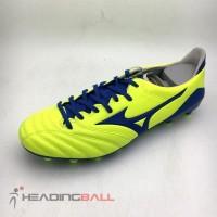 Sepatu Bola Mizuno Original Morelia Neo II MD Yellow Blue P1GA205325