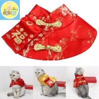 baju anjing dan baju kucing baju imlek chinese ney year IMLEK005