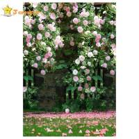 Baru Backdrop Background Motif Bunga untuk Dekorasi Pernikahan