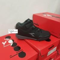 Sepatu Anak Diadora Basket (Mz) - 32, Hitam