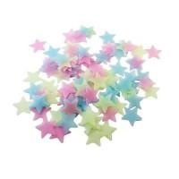 [ set isi 100pcs ] Star Wall Sticker Stiker Bintang Glow in the Dark