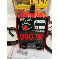 Mesin Las Inverter Rhino MMA 120 IGBT Trafo Las Inverter MeRAH 900 WAT