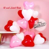 Balon Latex Hati / Balon Latex Love / Balon Latex hati isi 100 pcs
