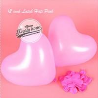 Balon Latex Hati Pink / Balon Latex Love Pink / Balon Latex wedding