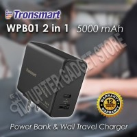 Tronsmart WPB01 2in1 Wall charger VoltiQ and Powerbank 5000 mAh - ORI