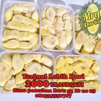 Durian Kupas Medan Ucok khusus area Surabaya,gresik,Sidoarjo via GOJEK