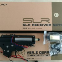 WGB Mainan Gel Blaster Gearbox V2 Nylon SLR