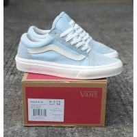 Sepatu Sneakers Pria Vans Old Skool Style 36 Lx Light Blue Premium