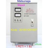 Matsunaga Stavol Stabilizer 10000 Watt 10KVA Penstabil Arus Listrik