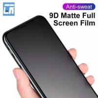 Tempered Glass Glare Matte anti minyak Iphone X XS anti gores kaca