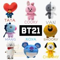 Bantal BT21 / Boneka BT21 BTS K-POP Korea TATA CHIMMY COOKY VAN RJ