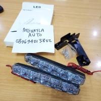 lampu led DRL 6 Titik Untuk Towing/Tanduk Bemper Depan Mobil