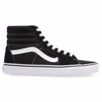 sepatu vans SK8 black white