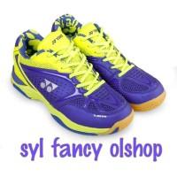 sepatu vonex badminton Aero comfort purple lime original bnib