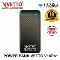 VETTO V10Pro PowerBank Quick Charge 3.0 + PD - 10000mAh