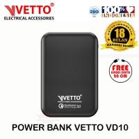 VETTO VD10 PowerBank Mini - 10000mAh