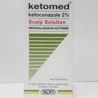 HOT SALE Ketomed Scalp Solution Shampoo Anti DHT dan Anti Ketombe