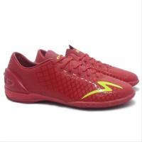 Sepatu Futsal Specs Accelerator Exocet IN Red Original Promo onderd