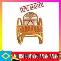 Tp - Best Kursi Goyang Rotan Anak Bangku Santai - Nsbk1013