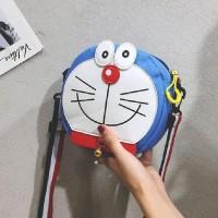 Tas Selempang Cewek Lucu Doraemon Kanvas Tas Best
