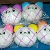 PROMO Mainan Anak Squisy Bakpau karakter harga 1 pcs