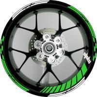 Stiker Velg / Wheel Striping Moto 3 Untuk Velg 17 All Motor Sport Nin