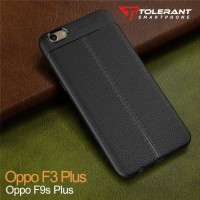 OPPO F3 PLUS AUTO FOCUS CASE SILICON BLACK MATE CASING SARUNG HP