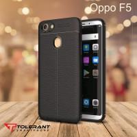 OPPO F5 AUTO FOCUS CASE SILICON BLACK MATE CASING SARUNG HP