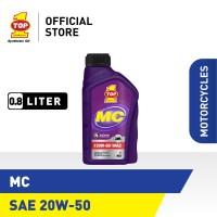 Oli Motor TOP 1 SMO MC SAE 20W-50   0.8 Liter