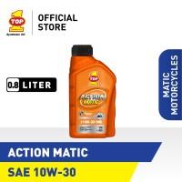 Oli Motor Matik TOP 1 ACTION MATIC SAE 10W-30 | 0.8 Liter