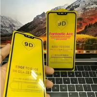 Oppo F7 Tempered Glass Full Lem 9D Temper Glass Anti Gores Kaca
