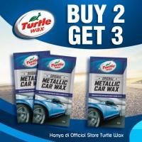 Turtle Wax Metallic Sachet Buy 2 Get 3 Pengkilap Body Mobil Motor