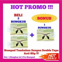 Nosepad Tempel Double Tape Silikon/ Nose pad Bantalan Hidung Tambahan