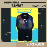Baju Kaos hoodie - Hodie Kupluk - Premium Motif abstrak galaxy premium